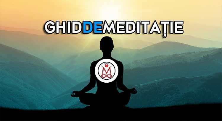 ghid de meditaţie