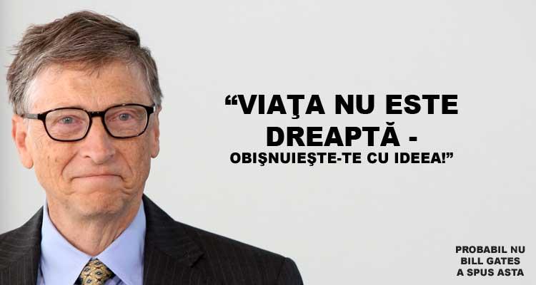 Lectii de viata cu Bill Gates