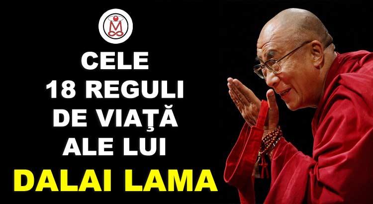 reguli de viata dalai lama