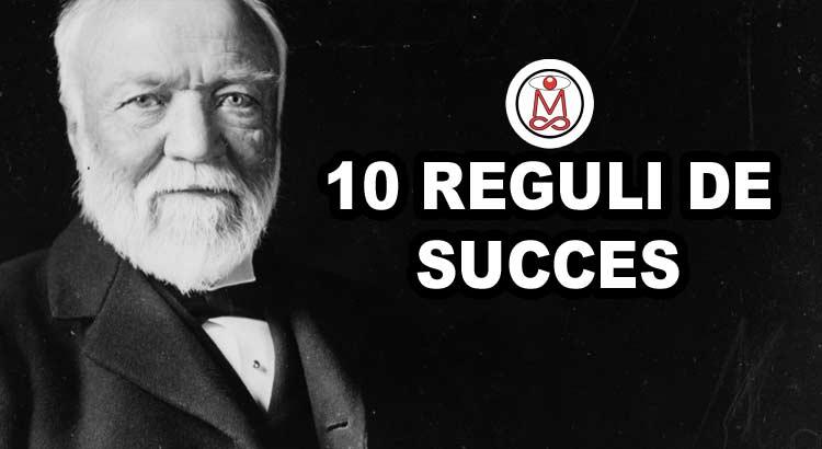 reguli de succes andrew carnegie