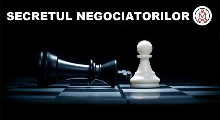 secretul negociatorilor